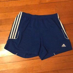Mens Climalite adidas soccer shorts.